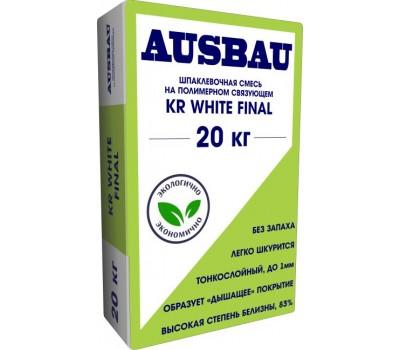 АУСБАУ Шпаклевка KR WHITE Final, 20 кг