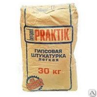 Штукатурка гипсовая легкая BERGAUF PRAKTIK 30 кг (49)