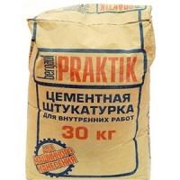 Штукатурка цемент внутр/работ BERGAUF PRAKTIK 30кг