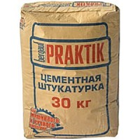 Штукатурка цемент фасадная BERGAUF PRAKTIK 30кг