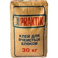 Клей для ячеистых блоков Бергауф Практик 30 кг