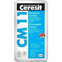 Клей для плитки д/нар.внутр работ Ceresit CМ 11 Plus 25 кг