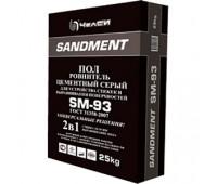 Ровнитель для пола цементный 25 кг SANDMENT SM-93 (5-50мм)