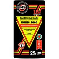 ЮНИС Клей плиточный 2000, 25 кг (48)